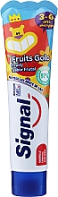 Парфюмерия и Козметика Детска паста за зъби с плодов вкус, 3-6 год. - Signal Kids Fruit Flavor Toothpaste