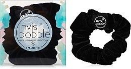 Парфюмерия и Козметика Ластик за коса - Invisibobble Sprunchie True Black