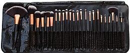 Парфюмерия и Козметика Комплект четки за грим, 24 бр. - Rio Professional Cosmetic Make Up Brush Set