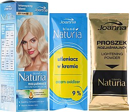 Парфюми, Парфюмерия, козметика Изсветлител за коса - Joanna Hair Naturia Blond