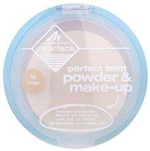 Парфюмерия и Козметика Пудра за лице - Manhattan Clearface Perfect Teint Powder & Make-up