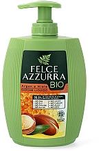 Парфюмерия и Козметика Течен сапун с арганово масло и мед - Felce Azzurra BIO Argan & Honey Liquid Soap