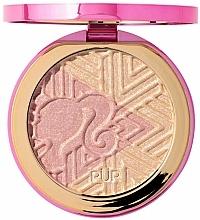 Парфюмерия и Козметика Хайлайтър за лице - Pur X Barbie Confident Glow Signature Illuminating Highlighter