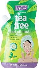 Парфюмерия и Козметика Маска за лице - Beauty Formulas Tea Tree Peel-Off Mask