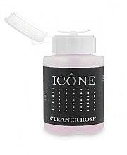 Парфюмерия и Козметика Обезмаслител за нокти - Icone Cleaner Rose