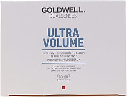 Парфюмерия и Козметика Интензивен серум за обем на косата - Goldwell Dualsenses Ultra Volume Intensive