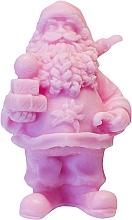 """Парфюмерия и Козметика Натурален ръчно изработен сапун """"Дядо Коледа с подаръци"""" с аромат на вишна - LaQ Happy Soaps Natural Soap"""