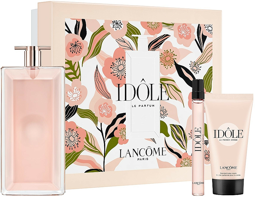 Lancome Idole - Комплект (парф. вода/100ml + парф. вода/10ml + крем за тяло/50ml)