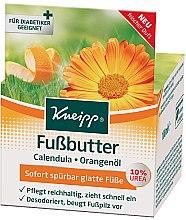 Парфюмерия и Козметика Масло за крака - Kneipp Foot Repair Butter Calendula & Orange