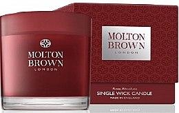 Парфюмерия и Козметика Molton Brown Rosa Absolute Single Wick Candle - Ароматна свещ