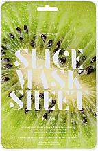Парфюмерия и Козметика Маска за лице с екстракт от киви - Kocostar Slice Mask Sheet Kiwi