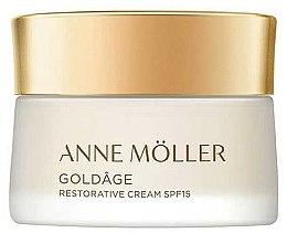 Парфюмерия и Козметика Крем за лице - Anne Moller Goldage Restorative Cream SPF15