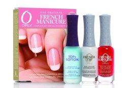 Парфюми, Парфюмерия, козметика Комплект за френски маникюр - Orly French Manicure Kit Rose (основа/9ml + лакове/2x9ml)