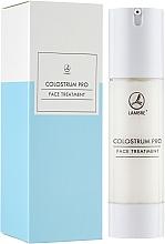 Парфюмерия и Козметика Регенериращ крем за лице с коластра - Lambre Colostrum Pro Face Treatment