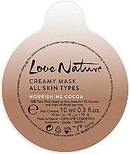 "Подхранваща маска за лице ""Какао"" - Oriflame Love Nature Creamy Mask — снимка N2"