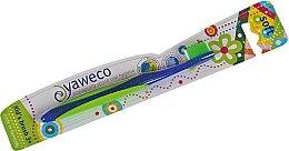 Парфюмерия и Козметика Детска четка за зъби, мека, синя - Yaweco Kids Toothbrush Soft