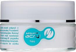 Парфюмерия и Козметика Акрилен прах за нокти, 72 г - Silcare Sequent Acryl Pro