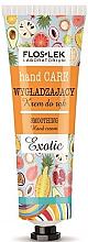 Парфюми, Парфюмерия, козметика Изглаждащ крем за ръце - Floslek Hand Care Smoothing Cream Exotic