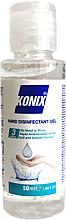 Парфюмерия и Козметика Антибактериален гел за ръце - Konix Antibacterial Gel