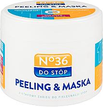 Парфюмерия и Козметика Двуфазна маска-пилинг за крака - Pharma CF No.36 Peeling & Mask
