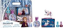 Парфюмерия и Козметика Disney Frozen II - Комплект (тоал. вода/50ml + лак за нокти/2x5ml + козм. чанта)