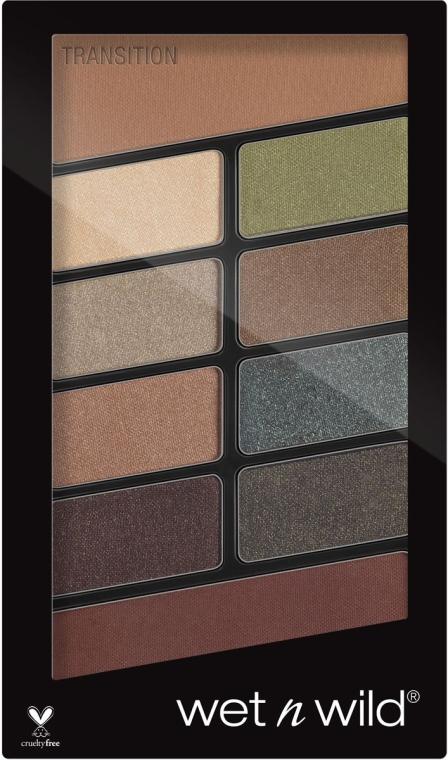 Палитра сенки за очи - Wet N Wild Color Icon 10 Pan Palette