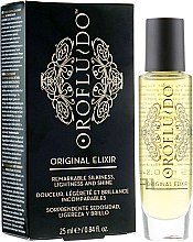 Парфюмерия и Козметика Еликсир за красота на косата - Orofluido Original Elixir Remarkable Silkiness, Lightness And Shine