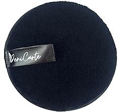 Парфюмерия и Козметика Почистваща гъба за лице, черна - Deni Carte Face Wash Microfiber Black
