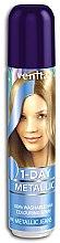 Парфюмерия и Козметика Спрей-оцветител за коса - Venita 1-Day Color Metallic Spray
