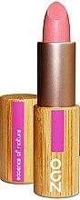 Парфюмерия и Козметика Седефено червило за устни - Zao Bamboo Pearly Lipstick