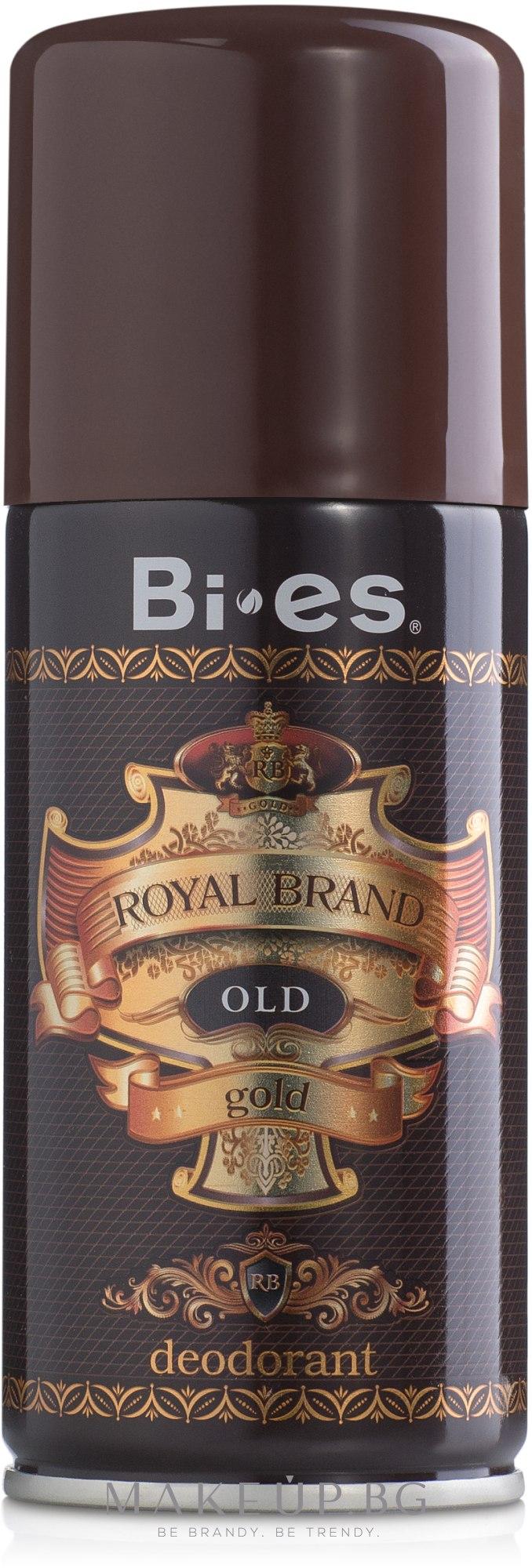 Дезодорант за мъже - Bi-es Royal Brand Gold — снимка 150 ml