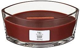 Парфюмерия и Козметика Ароматна свещ в чаша - Woodwick Hearthwick Flame Ellipse Candle Redwood