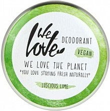 Парфюмерия и Козметика Натурален кремообразен дезодорант - We Love The Planet Deodorant Luscious Lime