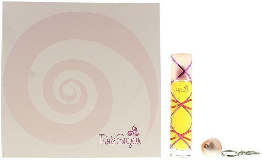 Aquolina Pink Sugar - Комплект (тоал. вода/50ml+аксесоар) — снимка N1