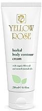 Парфюмерия и Козметика Билков крем за тяло - Yellow Rose Herbal Body Contour Cream