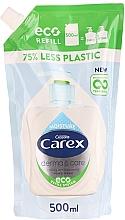 Парфюмерия и Козметика Течен антибактериален сапун - Carex Moisture Plus Hand Wash (пълнител)