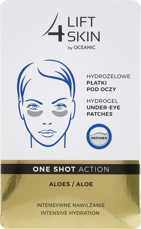 Пачове за под очи - AA Cosmetics Lift 4 Skin Hydrogel Under-Eye Patches Aloe — снимка N1