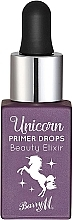 Парфюмерия и Козметика Праймер за лице - Barry M Beauty Elixir Unicorn Primer Drops