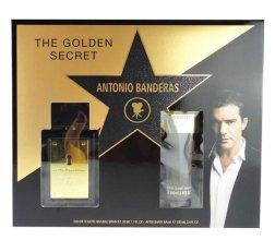 Парфюми, Парфюмерия, козметика Antonio Banderas The Golden Secret - Комплект (edt 50ml+a/sh balm 100ml)