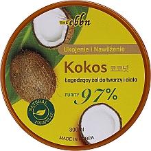 Парфюмерия и Козметика Успокояващ гел с кокос за тяло и лице - The Ebbn Soothing Face & Body Gel Coconut 97%