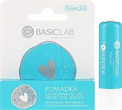Парфюмерия и Козметика Защитно червило за устни - BasicLab Dermocosmetics Famillias