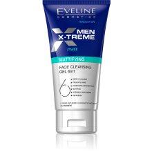 Парфюми, Парфюмерия, козметика Матиращ гел за лице - Eveline Cosmetics Men Extreme