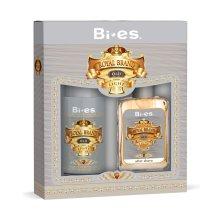 Парфюми, Парфюмерия, козметика Bi-Es Royal Brand Light - Комплект (афтършейв/100ml + дезод./150ml)