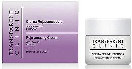 Парфюми, Парфюмерия, козметика Подмладяващ крем за лице с екстракт от хайвер - Transparent Clinic Crema Rejuvenecedora
