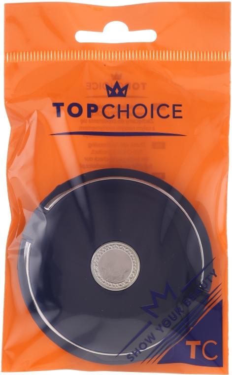 Козметично огледалце двустранно, тъмносиньо, 5565 - Top Choice — снимка N1