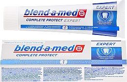 Парфюмерия и Козметика Паста за зъби - Blend-a-med Complete Protect Expert Professional Protection Toothpaste
