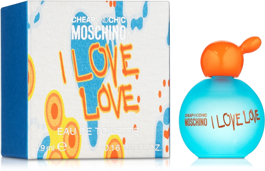 Moschino I Love Love - Тоалетна вода ( мини )  — снимка N1