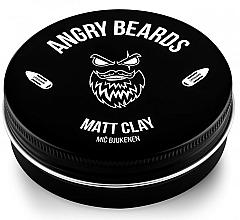 Парфюмерия и Козметика Глина за коса - Angry Beards Mic Bjukenen Matt Clay