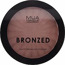 Парфюмерия и Козметика Бронзираща матирща пудра за лице - MUA Bronzed Matte Bronzing Powder