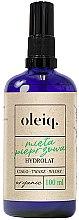 Парфюми, Парфюмерия, козметика Хидролат от мента залице, тяло и коса - Oleiq Hydrolat Mint